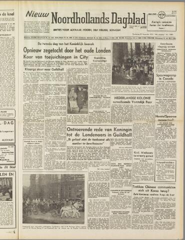 Nieuw Noordhollandsch Dagblad : voor Alkmaar en omgeving 1950-11-23