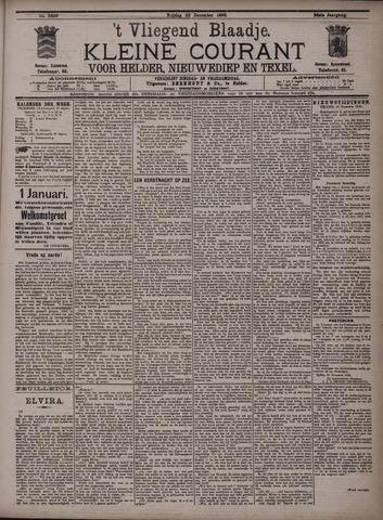Vliegend blaadje : nieuws- en advertentiebode voor Den Helder 1896-12-26