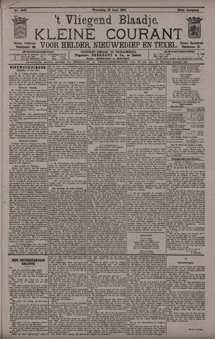 Vliegend blaadje : nieuws- en advertentiebode voor Den Helder 1895-06-19