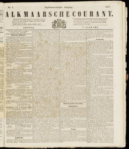 Alkmaarsche Courant 1877-01-07