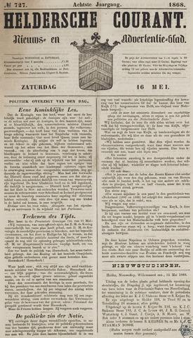 Heldersche Courant 1868-05-16
