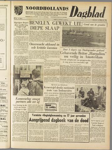 Noordhollands Dagblad : dagblad voor Alkmaar en omgeving 1960-02-22