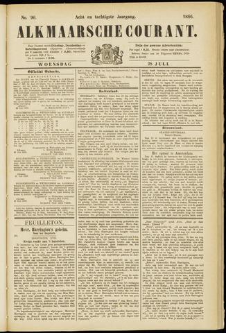 Alkmaarsche Courant 1886-07-28