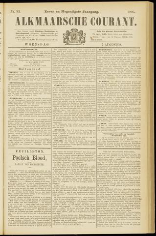 Alkmaarsche Courant 1895-08-07