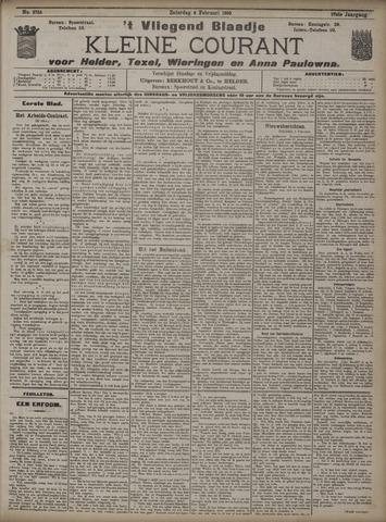 Vliegend blaadje : nieuws- en advertentiebode voor Den Helder 1909-02-06
