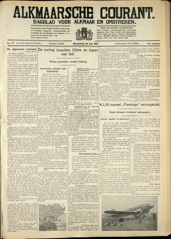 Alkmaarsche Courant 1937-07-28
