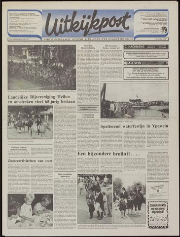 Uitkijkpost : nieuwsblad voor Heiloo e.o. 1992-07-29