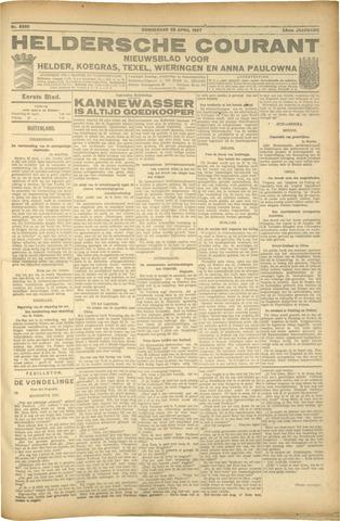 Heldersche Courant 1927-04-28