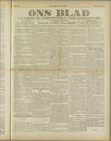 Ons Blad : katholiek nieuwsblad voor N-H 1920-06-12