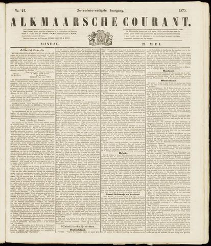 Alkmaarsche Courant 1875-05-23