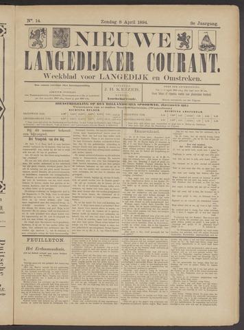 Nieuwe Langedijker Courant 1894-04-08