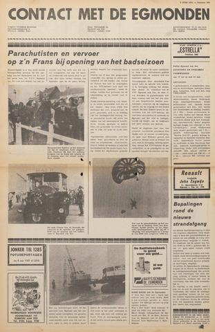 Contact met de Egmonden 1971-06-02