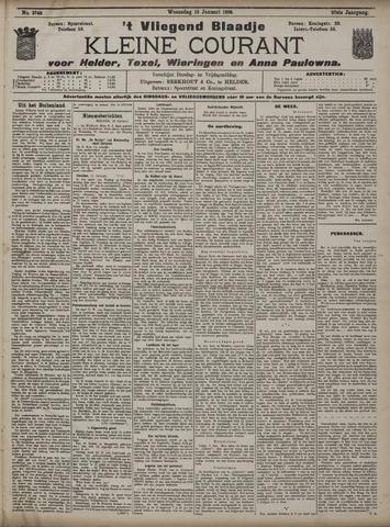 Vliegend blaadje : nieuws- en advertentiebode voor Den Helder 1909-01-13