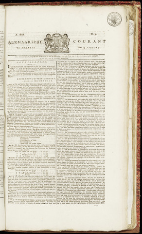 Alkmaarsche Courant 1826-01-23