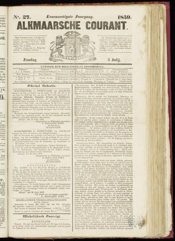 Alkmaarsche Courant 1859-07-03