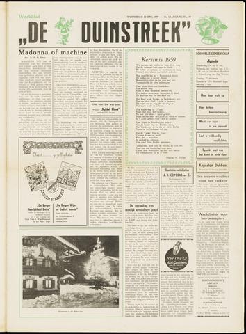 De Duinstreek 1959-12-23