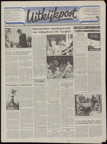 Uitkijkpost : nieuwsblad voor Heiloo e.o. 1992-09-30