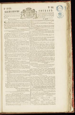 Alkmaarsche Courant 1848-04-03