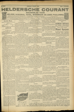 Heldersche Courant 1925-03-10
