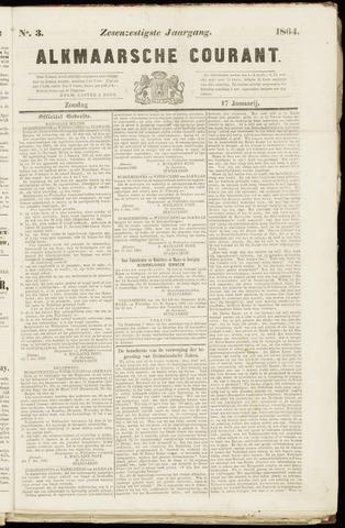 Alkmaarsche Courant 1864-01-17