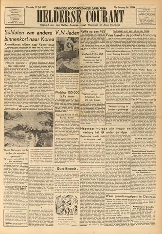 Heldersche Courant 1950-07-12
