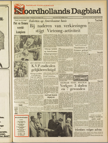 Noordhollands Dagblad : dagblad voor Alkmaar en omgeving 1967-08-28