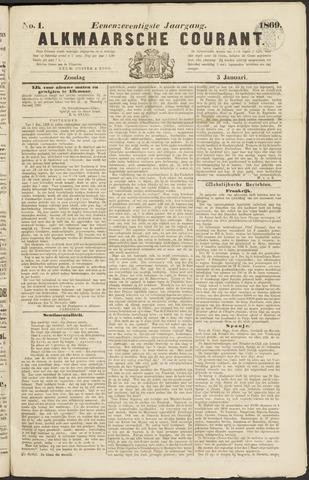 Alkmaarsche Courant 1869-01-03