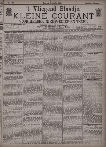 Vliegend blaadje : nieuws- en advertentiebode voor Den Helder 1886-10-30