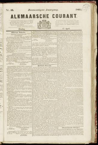 Alkmaarsche Courant 1864-04-17