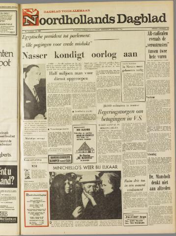 Noordhollands Dagblad : dagblad voor Alkmaar en omgeving 1969-11-07
