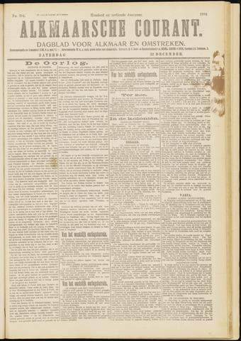 Alkmaarsche Courant 1914-12-12
