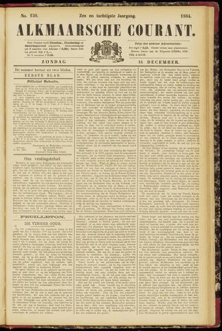 Alkmaarsche Courant 1884-12-14