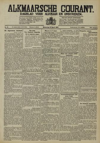 Alkmaarsche Courant 1937-04-12