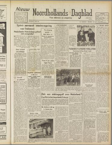 Nieuw Noordhollandsch Dagblad : voor Alkmaar en omgeving 1947-06-14