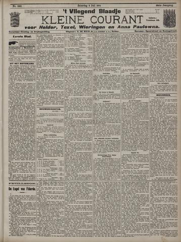 Vliegend blaadje : nieuws- en advertentiebode voor Den Helder 1910-07-02