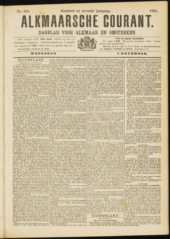 Alkmaarsche Courant 1905-11-01