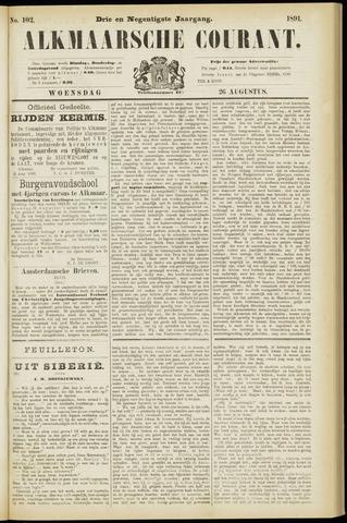 Alkmaarsche Courant 1891-08-26