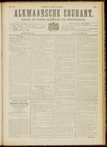 Alkmaarsche Courant 1909-11-24