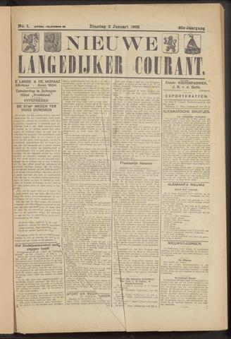 Nieuwe Langedijker Courant 1923-01-02