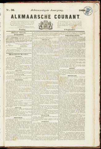 Alkmaarsche Courant 1866-09-09