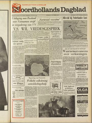 Noordhollands Dagblad : dagblad voor Alkmaar en omgeving 1967-09-23