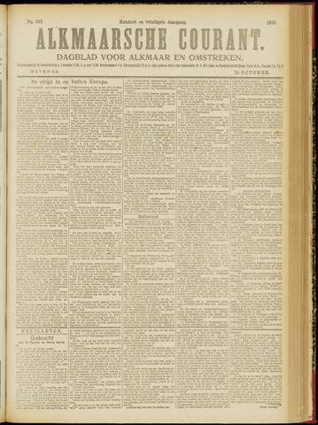 Alkmaarsche Courant 1918-10-15