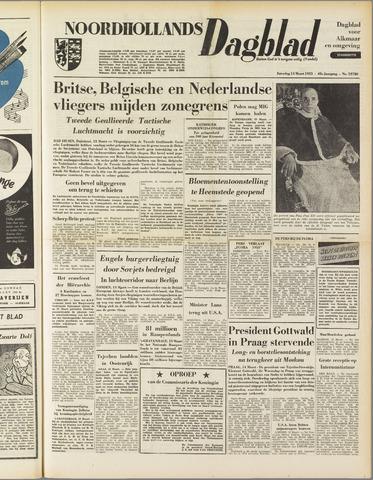 Noordhollands Dagblad : dagblad voor Alkmaar en omgeving 1953-03-14
