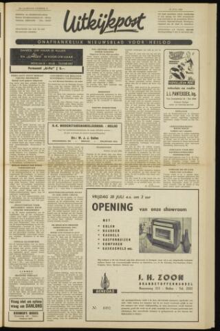 Uitkijkpost : nieuwsblad voor Heiloo e.o. 1962-07-19