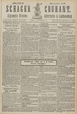 Schager Courant 1920-03-06