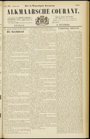 Alkmaarsche Courant 1894-11-11