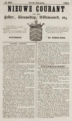 Nieuwe Courant van Den Helder 1864-02-20