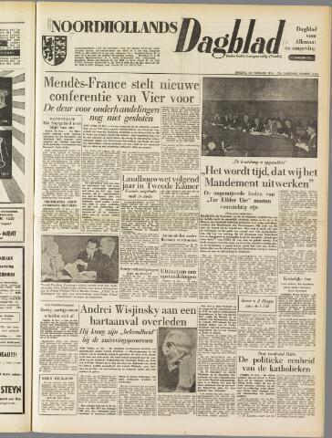 Noordhollands Dagblad : dagblad voor Alkmaar en omgeving 1954-11-23