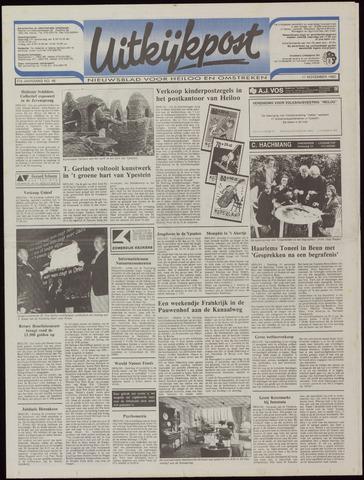 Uitkijkpost : nieuwsblad voor Heiloo e.o. 1992-11-11