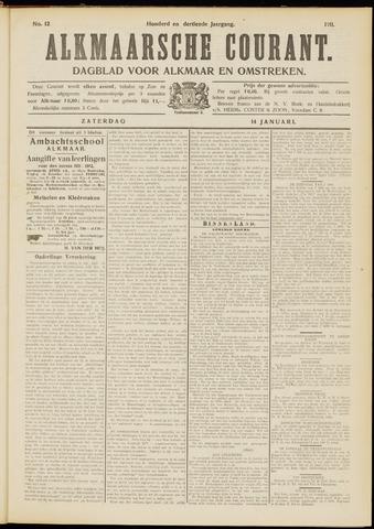 Alkmaarsche Courant 1911-01-14